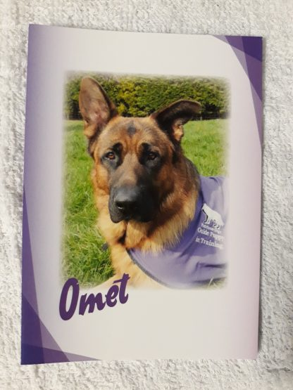 Omet photo on A6 sized notelet