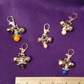 Angel bells handbag charms (assorted designs)