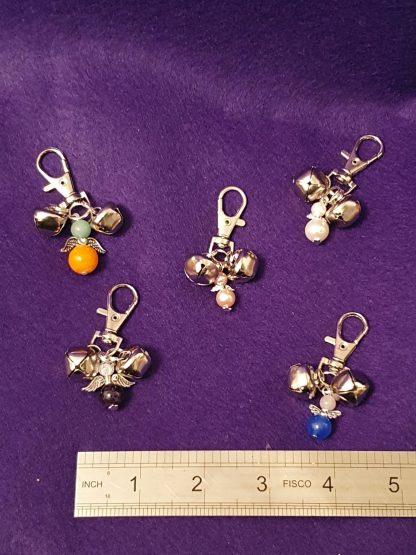 Angel bells handbag charms (assorted designs)