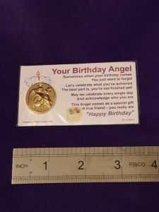 Birthday angel cards