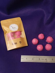 Midi rose wax melts pack of 5