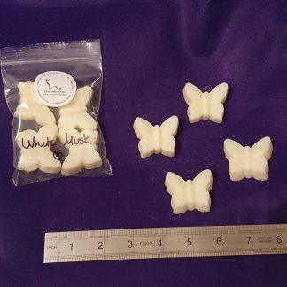White musk large wax melts pack of 4