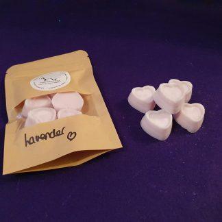 Lavender midi hearts
