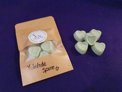 Yuletide spice midi hearts