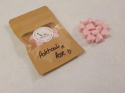 Patchouli & Rose mini melts