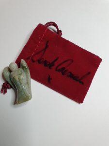 signed velvet bags