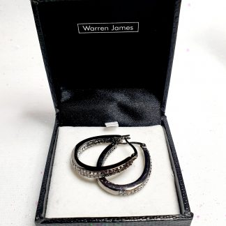 Boxed Warren James earrings