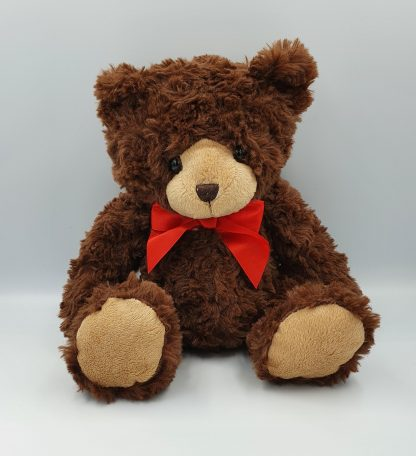 Teddy with red bow
