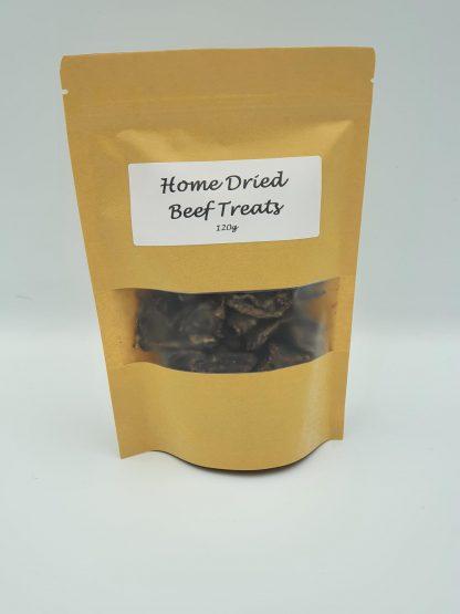 Home dried beef treats