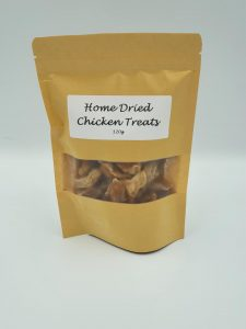 Home dried chicken treats