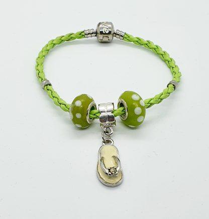 Green Corded Bracelet JC020