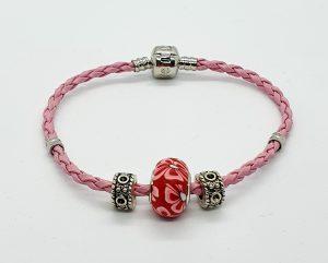 Pink Corded Bracelet JC012
