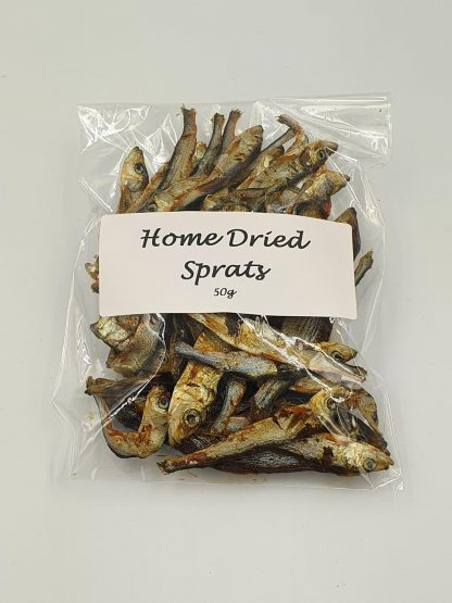 Home dried sprats treats