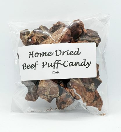 Home Dried Beef Puff Candy