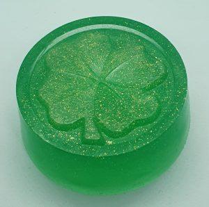 Peppermint Shamrock soap