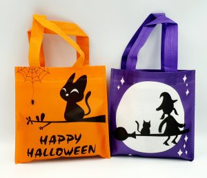 Trick or Treat Bags for Pets (Cats)