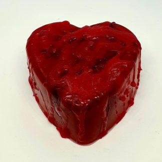 Bleeding heart soap