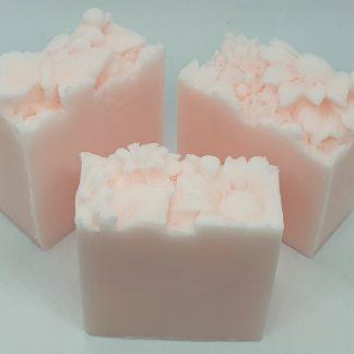 Flower guest soap
